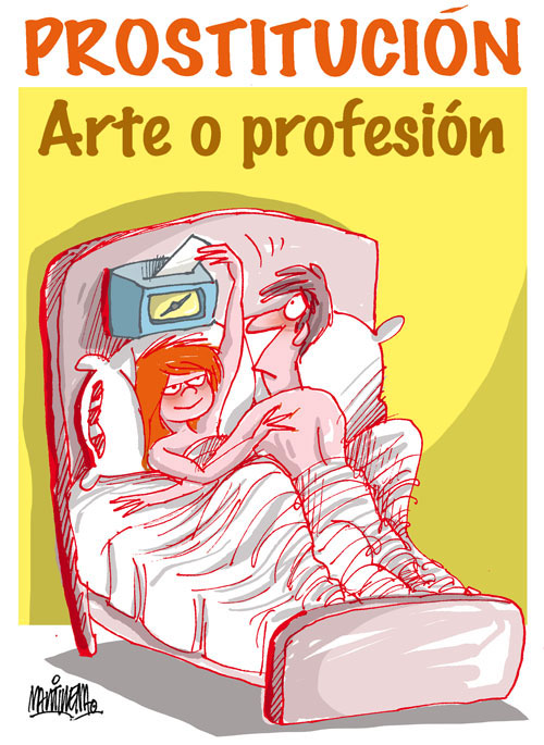 prostitución callejera dibujos de prostitutas