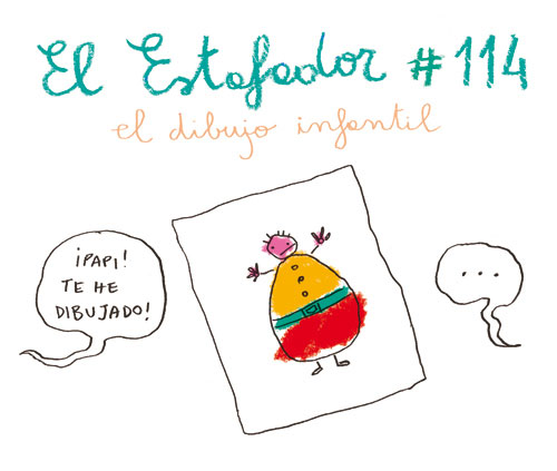 cristina spano dibujo infantil portada EL ESTAFADOR #114: EL DIBUJO INFANTIL