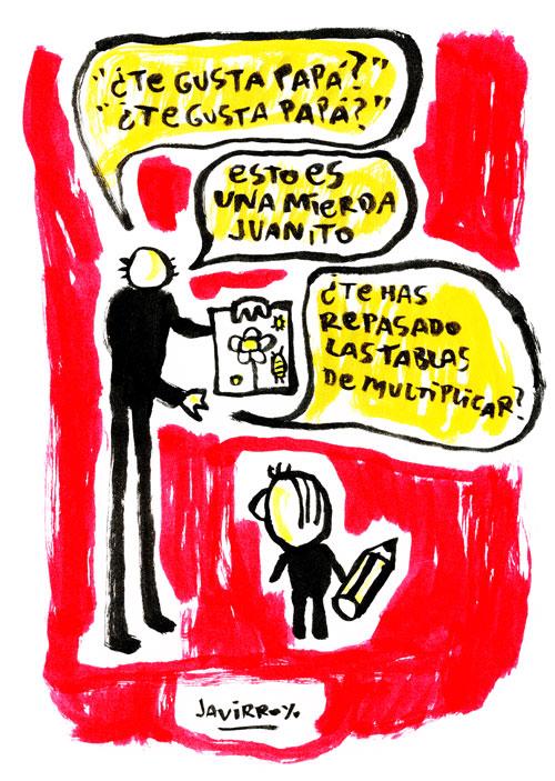 javirroyo dibujo infantil EL ESTAFADOR #114: EL DIBUJO INFANTIL