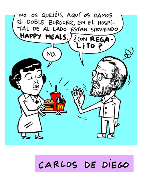 Carlos de Diego1 EL ESTAFADOR #121: HOSPITALES