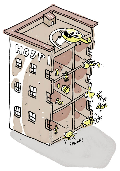Diego Estafador 121 EL ESTAFADOR #121: HOSPITALES