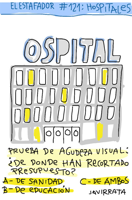 portada hospitales 81 EL ESTAFADOR #121: HOSPITALES