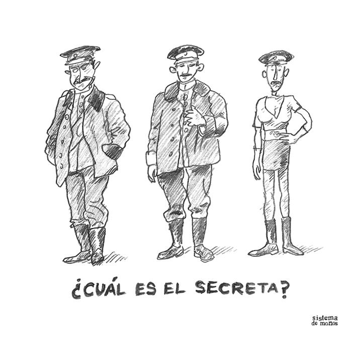 ¿Cuál es el secreta? - Sistema de Monos