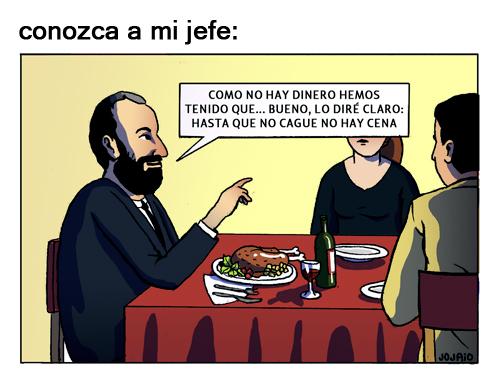 Jojaio - Cena de empresa - Conozca a mi jefe