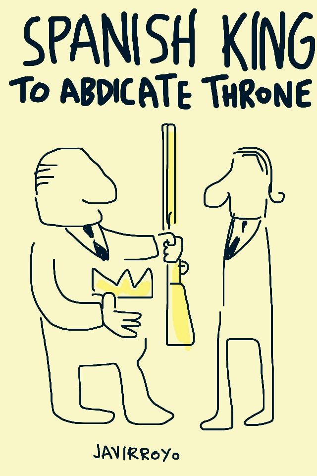 spanish king to abdicate throne