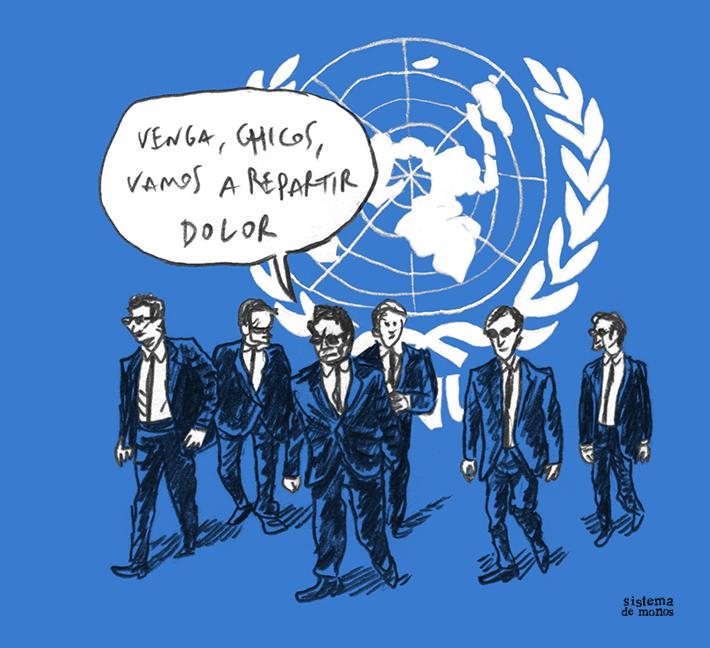 La ONU viaja a Palestina - Sistema de Monos