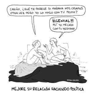 MEJORE SU RELACIÓN HACIENDO POLÍTICA